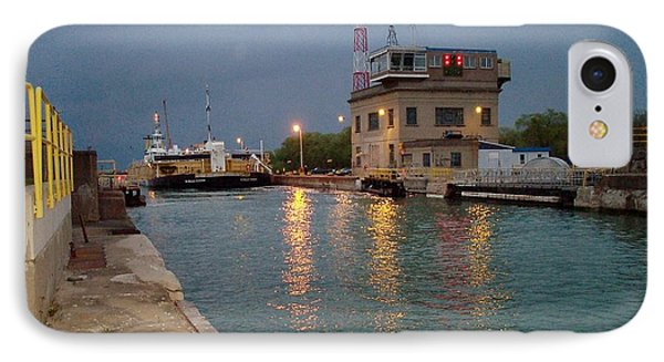 IPhone Case featuring the photograph Welland Canal Locks by Barbara McDevitt