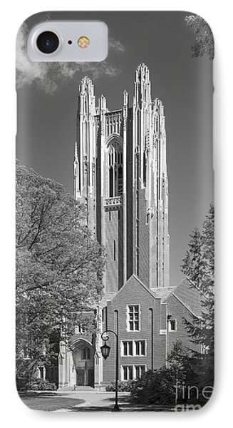 Wellesley College Green Hall IPhone Case by University Icons