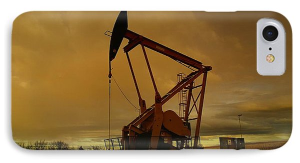 Wellhead At Dusk IPhone Case