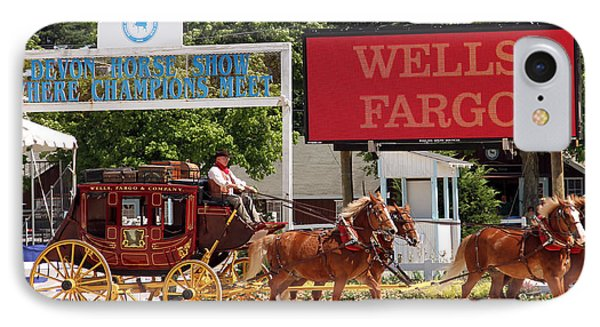 IPhone Case featuring the photograph Wells Fargo At Devon by Alice Gipson