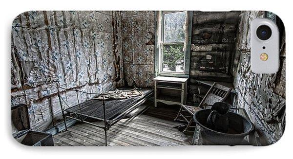 Wells Hotel Room 2 - Garnet Ghost Town - Montana Phone Case by Daniel Hagerman