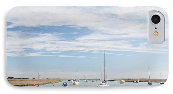Wells-next-the-sea In North Norfolk IPhone Case by Ashley Cooper