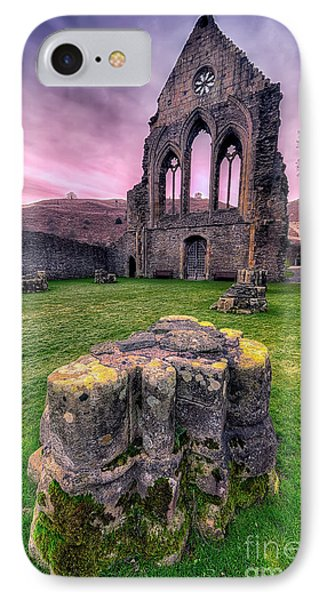 Welsh Abbey  Phone Case by Adrian Evans