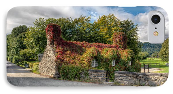 Welsh Cottage IPhone Case by Adrian Evans