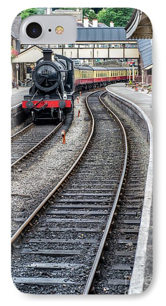 Welsh Railway IPhone Case by Adrian Evans