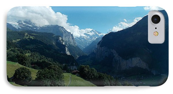 Wengen View Of The Alps IPhone Case