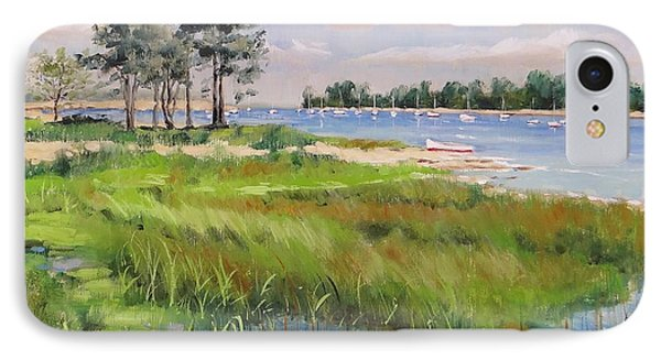 Wentworth By The Sea Phone Case by Laura Lee Zanghetti