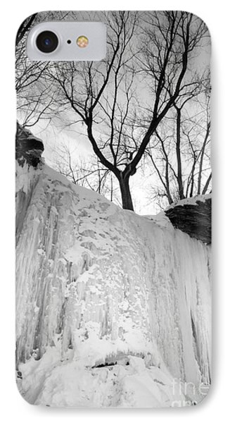 IPhone Case featuring the photograph Wequiock Walls Of Ice by Mark David Zahn Photography