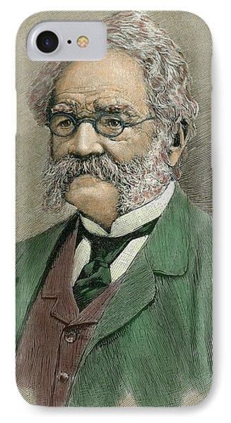 Werner Von Siemens (lenthe IPhone Case by Prisma Archivo