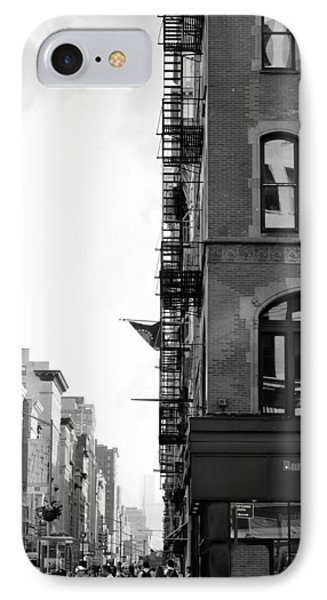 West 23rd Street Bw IPhone Case