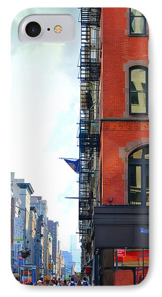 West 23rd Street IPhone Case by Laura Fasulo