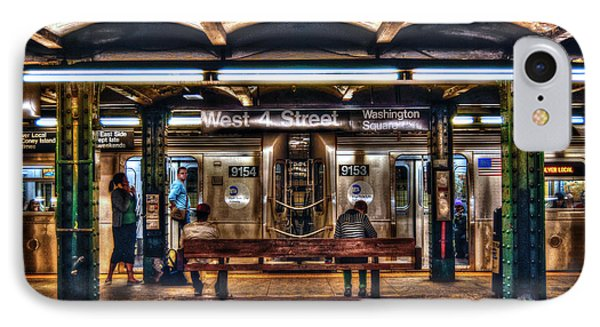 West 4th Street Subway IPhone 7 Case