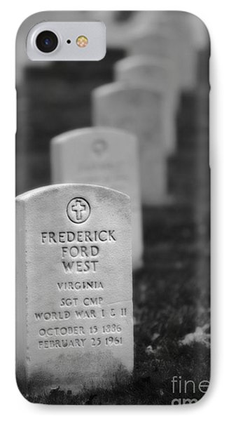 West At Rest Bw IPhone Case by Jerry Fornarotto