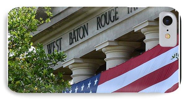 West Baton Rouge Court House Phone Case by Eunice Parker