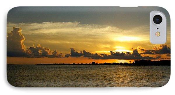 West Bay Sunset IPhone Case
