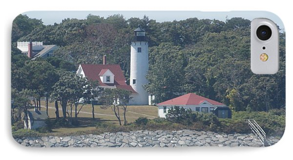 West Chop Lighthouse IPhone Case by Catherine Gagne