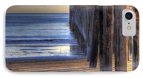 West Coast Cayucos Pier IPhone Case