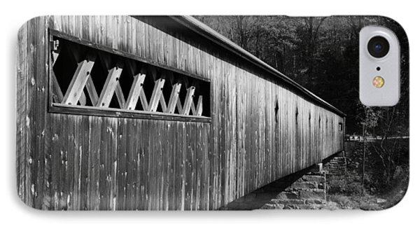 West Dummerston Covered Bridge Phone Case by Luke Moore