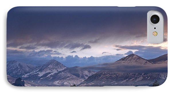 IPhone Case featuring the photograph West Elk Mountains First Light by Eric Rundle