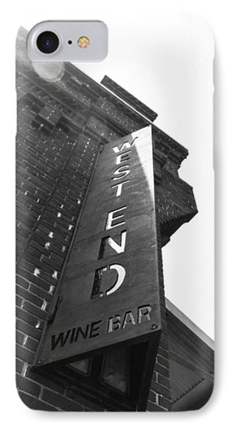 West End IPhone Case by Wade Brooks