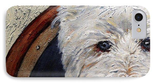 West Highland Terrier Dog Portrait IPhone Case by Enzie Shahmiri