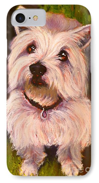 West Highland Terrier Reporting For Duty IPhone Case