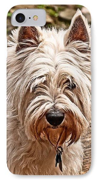 IPhone Case featuring the photograph West Highland White Terrier by Robert L Jackson