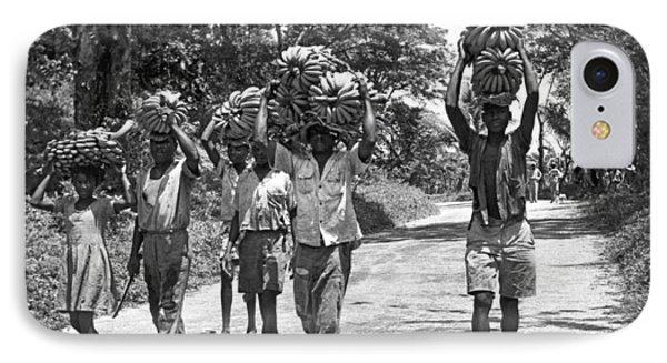 West Indies Banana Harvest IPhone Case