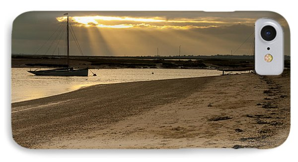 West Mersea Beach IPhone Case by David Isaacson
