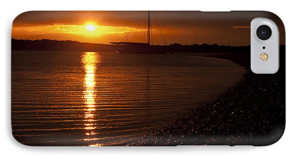 West Mersea Sunset IPhone Case by David Isaacson