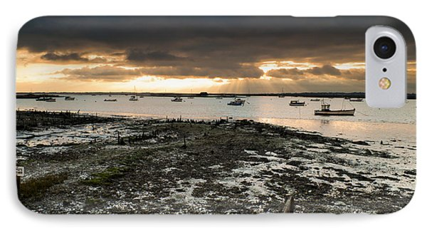 West Mersea View IPhone Case by David Isaacson