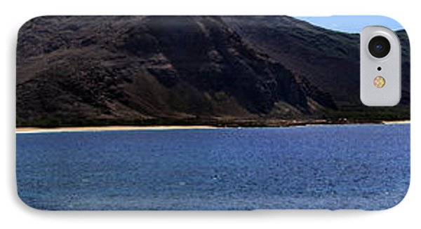 IPhone Case featuring the photograph West Oahu Panorama by Rob Tullis