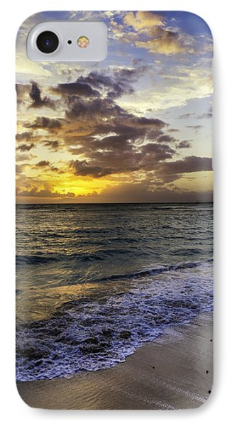 West Oahu Sunset IPhone Case by Rob Tullis
