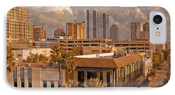 West Palm Beach Florida Phone Case by Debra and Dave Vanderlaan