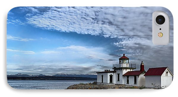 West Point Lighthouse II IPhone Case