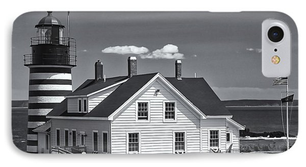 West Quoddy Head Light II IPhone Case by Clarence Holmes