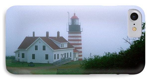 West Quoddy Lighthouse IPhone Case by Amanda Kiplinger