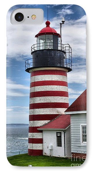 West Quoddy Lighthouse_4226 IPhone Case by Joseph Marquis