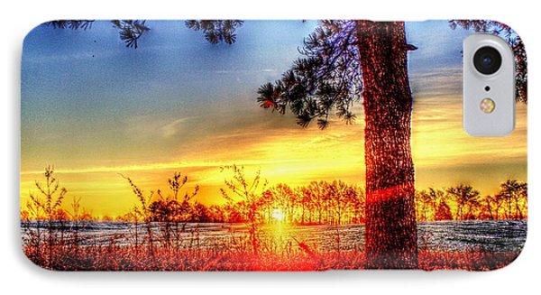 West Tennessee Sunrise IPhone Case