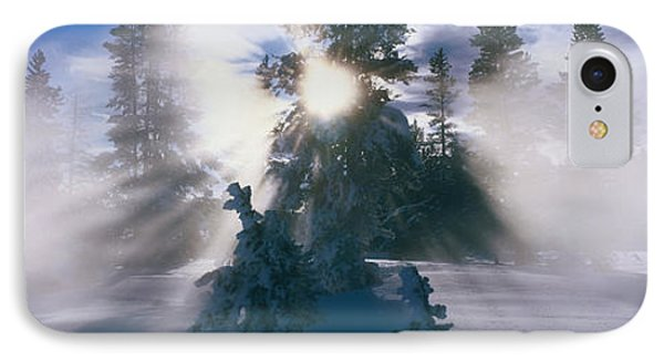 West Thumb Geyser Basin Yellowstone IPhone Case by Panoramic Images
