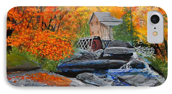 West Virginia Grist Mill Phone Case by William Tremble