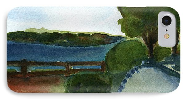 IPhone Case featuring the painting West Virginia View  by Frank Bright