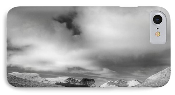 Wester Ross Winter  IPhone Case by Derek Beattie