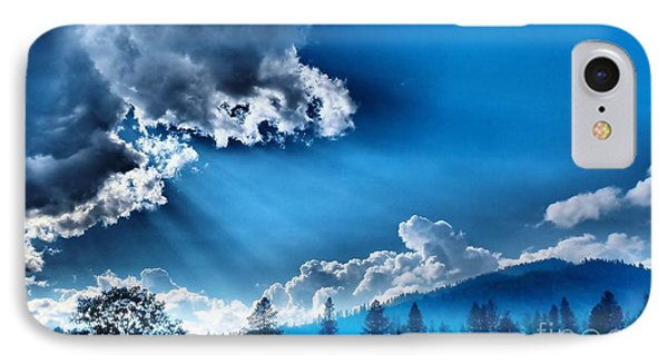 Westerly Clouds IPhone Case by Julia Hassett