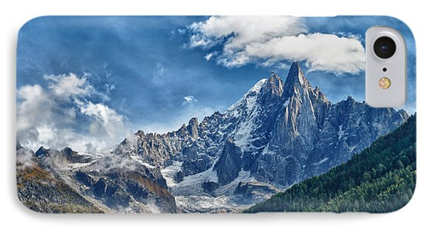 Western Alps In Chamonix IPhone Case by Juergen Klust