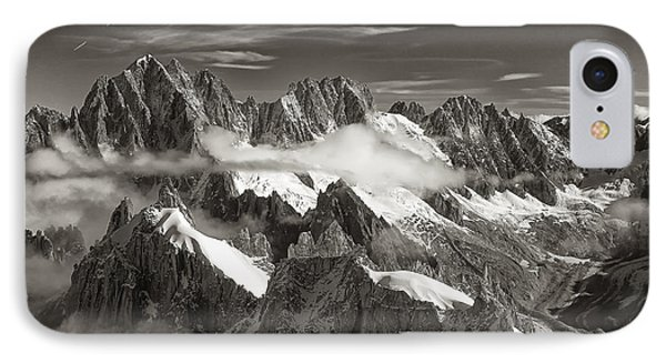 Western Alps - Panorama IPhone Case by Juergen Klust