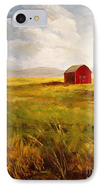 Western Barn IPhone Case by Lee Piper