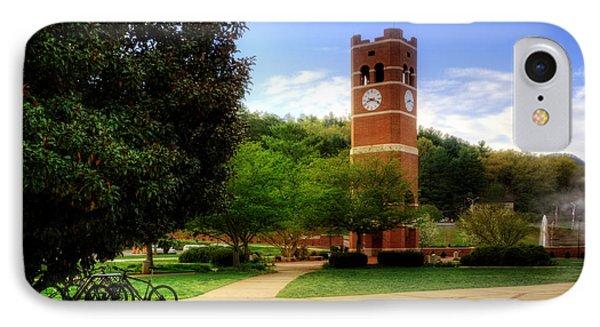 Western Carolina University Alumni Tower Phone Case by Greg and Chrystal Mimbs