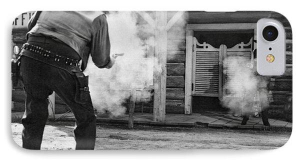 Western Film Shootout IPhone Case