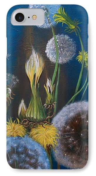 Western Goat's Beard Weed IPhone Case by Sharon Duguay